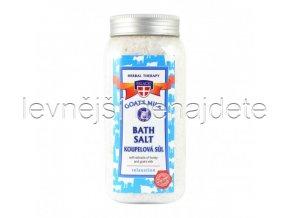 Koupelová sůl KOZÍ MLÉKO, 900g