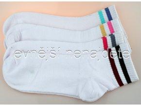 Dámské bavlněné ponožky running 3 páry