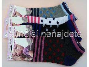 Dámské kotníkové ponožky SW 3 páry