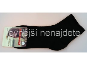 Dámské zdravotní ponožky černé