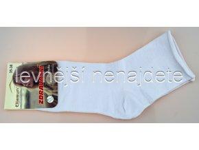Dámské zdravotní ponožky bílé