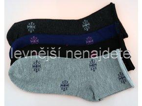 Dámské zdravotní ponožky hvěz 3 páry