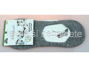 Bavlněné ťapky šedé