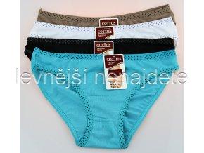 Dámské kalhotky barevné 4 kusy