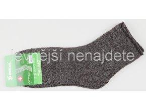 Pánské zdravotní termo ponožky melír