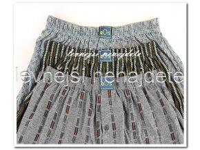 Pánské bavlněné boxerky 3 kusy
