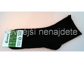 Dámské bambusové zdravotní ponožky černé