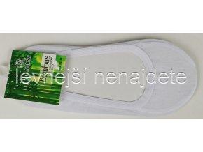 Bambusové ťapky bílé