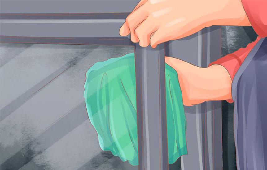 Jak vyčistit krbové sklo