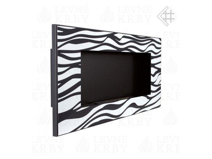 biokrb delta 2 zebra cerny 3870