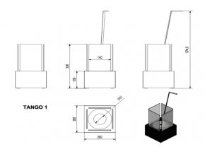 biokrb tango 1 cerny 4027