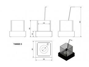 biokrb tango 3 cerny 4033