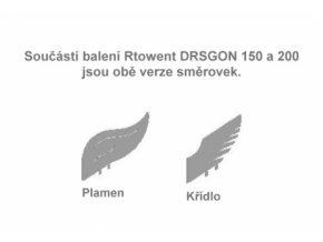 HLAVICE DRAGON S ČTVERCOVOU PODSTAVOU - VYKLÁPĚCÍ - 200MM