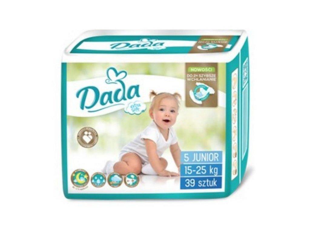 Dada Extra Soft 5 15-25 Kg 39 Ks  + doprava ZDARMA při objednávce nad 1200 kč + dárek