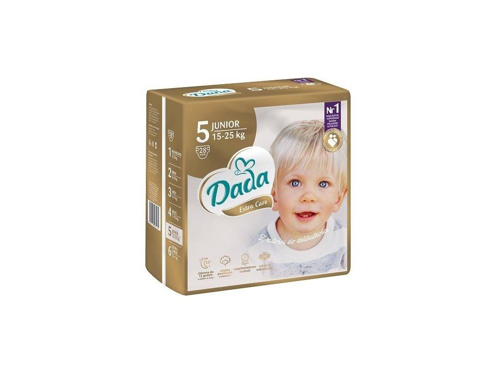 DADA EXTRA CARE VEL.5 JUNIOR, 15-25KG, 28KS