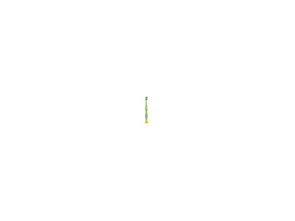 Dětský zubní kartáček zelený malý