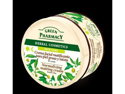 GP Face cream Green Tea ES ENG
