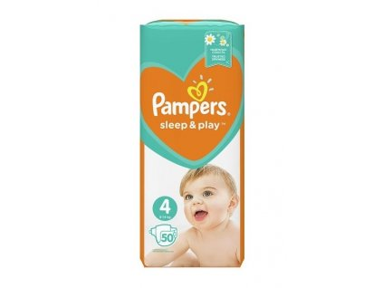 Pampers plenky Sleep & Play 4 maxi 9-14 kg 50 ks