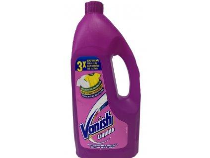 Vanish Oxi Action Liquid odstraňovač skvrn 1 l pink