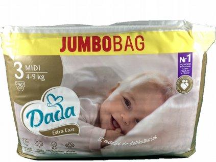 DADA EXTRA CARE 3 JUMBO BAG 96 szt