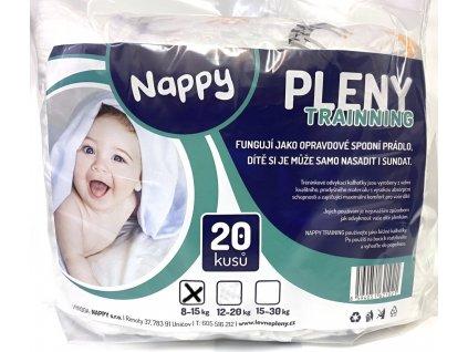 NAPPY Training 8-15 kg 20 ks