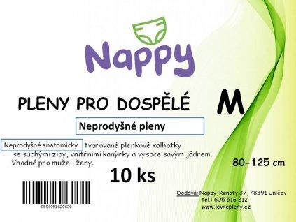 Absorpční kalhotky Nappy prodyšné M 2.stupeň