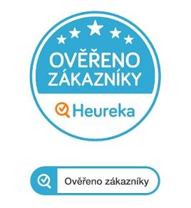 Získaný certifikát Heureka ověřeno zákazníky.