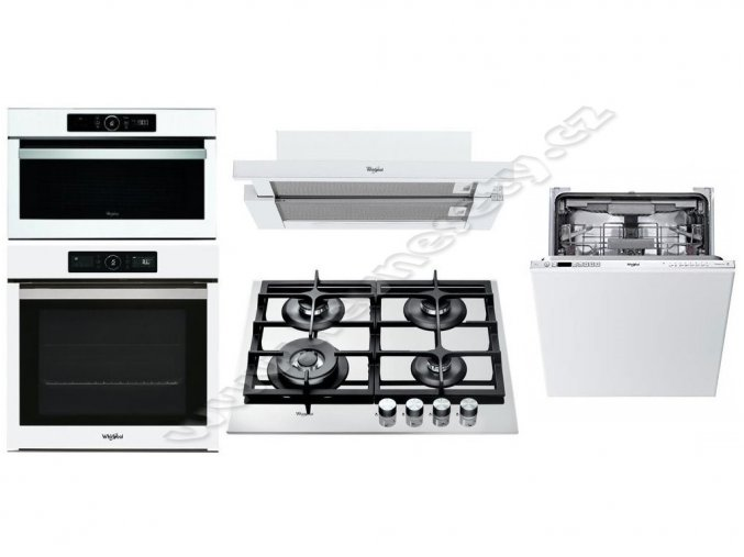 Set WHIRLPOOL AKZ9 6230 WH + GOA 6425 WH + AKR 749/1 WH + AMW 730 WH + WIC 3C23 PEF