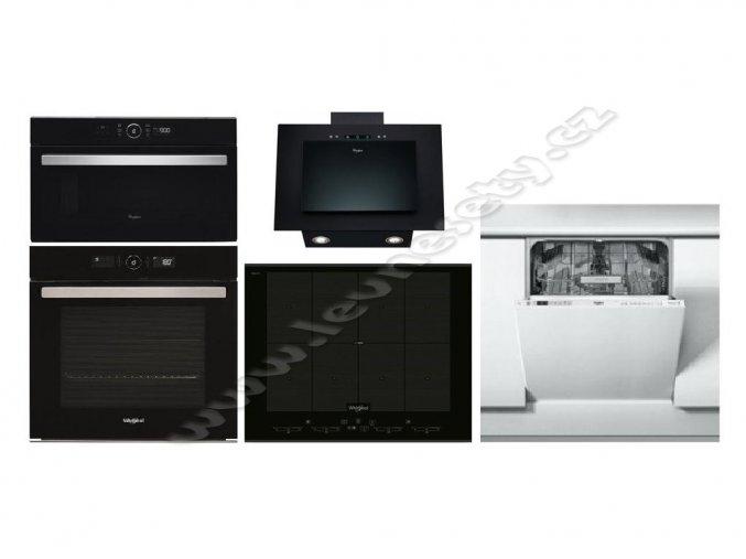 Set WHIRLPOOL AKZ9 6230 NB + SMO 658C BT IXL + AMW 730 NB + AKR 036/1 G BL + WIO 3T321 P