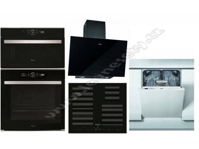 Set WHIRLPOOL AKZM 8480 NB + SMC 604 F/NE + AMW 730 NB + AKR 037 G BL + WKIO 3T123 6.5 P