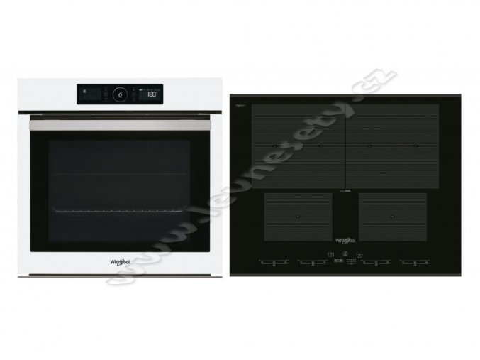Set Whirlpool AKZ9 6220 WH + SMO 654 OF/BT/IXL