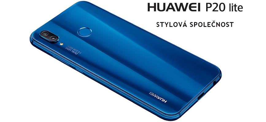 Huawei P20 Lite mobilní telefon