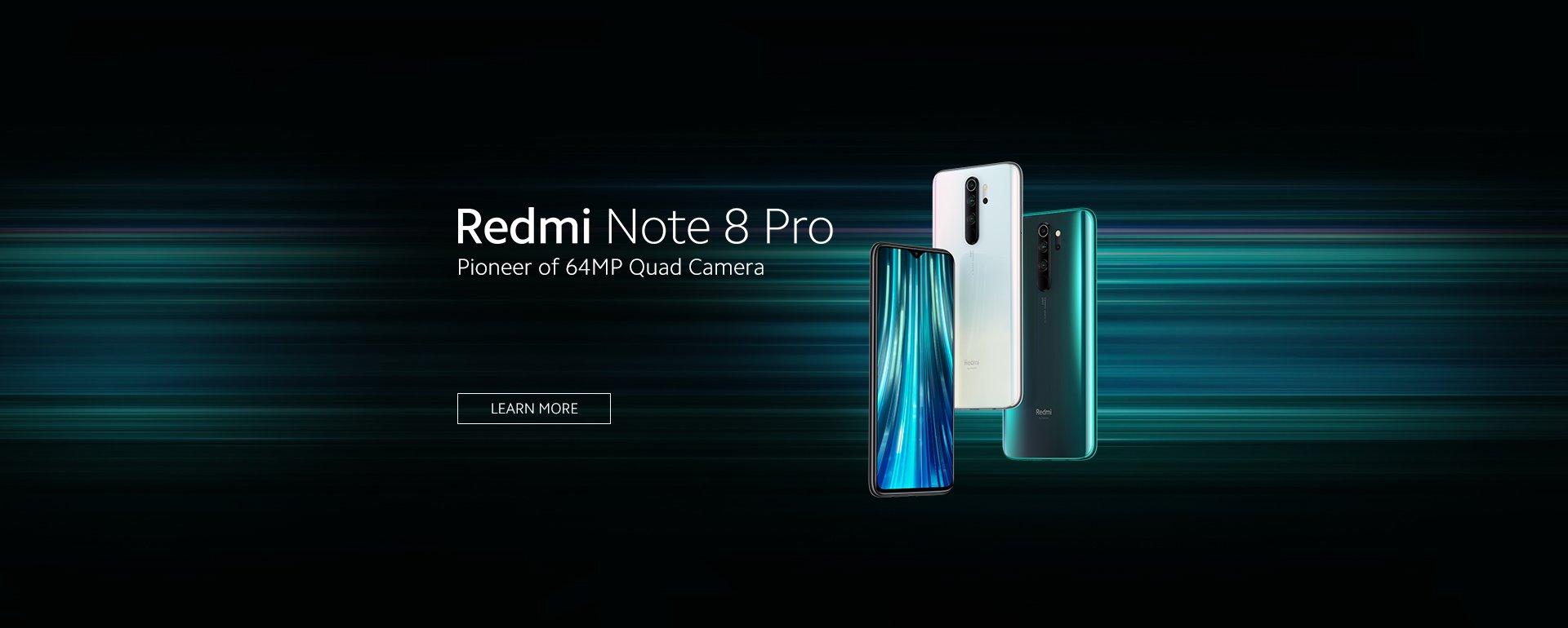 Xiaomi Note 8 Pro bohatá výbava.