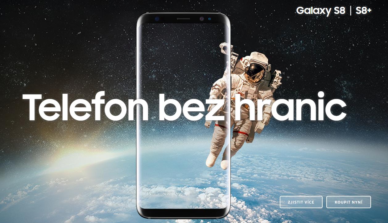 Samsung S8 a Samsung S8 + česká distribuce