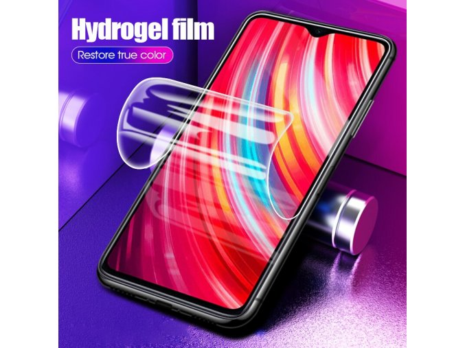 9D Soft Hydrogel Glass For Xiaomi Redmi Note 8 7 Pro K20 Pro 7A Front Film