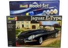 Jaguar E-Type 07291 - 1:25 + sada barev
