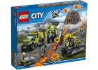 LEGO City 60124 Sopečná základna průzkumníků