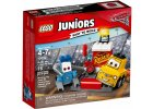 LEGO Juniors 10732 Zastávka v boxech Guida a Luigiho