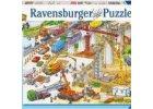 puzzle pracovní stroje