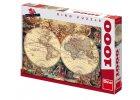 Dino Puzzle Historická mapa, 1000 dílků