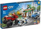 LEGO City Police 60245 Loupež s monster truckem