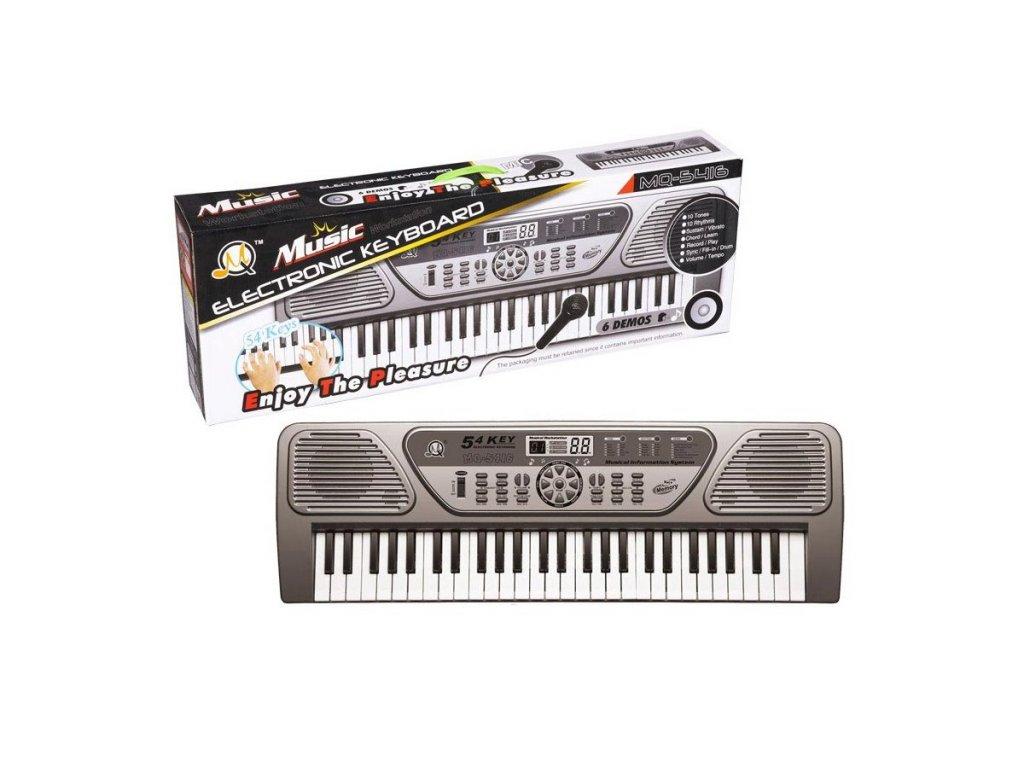 Elektronické klávesy, MQ 5416, 54 kláves
