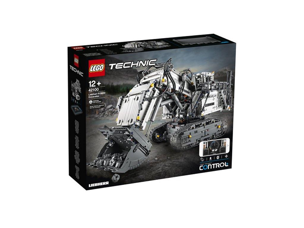 lego technic 42100 bagr liebherr r 9800 h052466
