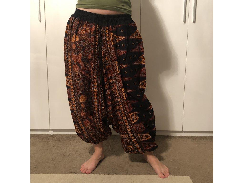 Thajské Harémové kalhoty Sultánky Unisex