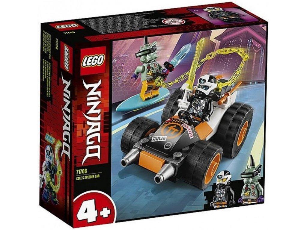 LEGO Ninjago 71706 Coleovo rychlé auto