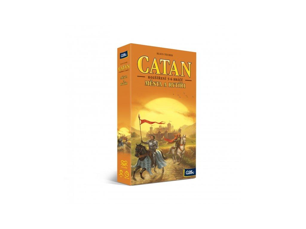CATAN - MĚSTA A RYTÍŘI 5-6 HRÁČŮ