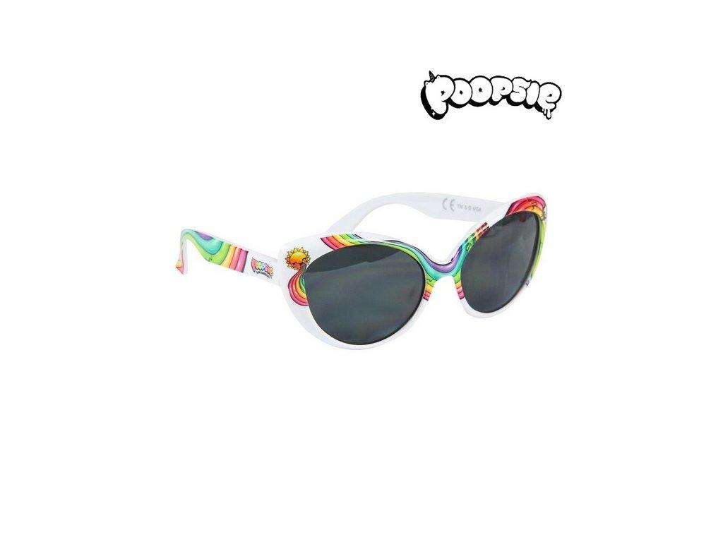 Sluneční brýle pro děti Poopsie Bílé
