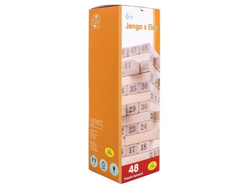 Albi Věž s čísly
