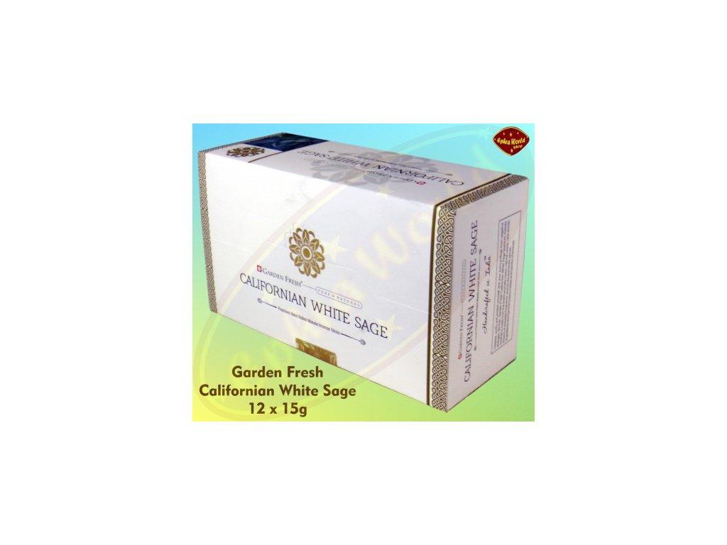 garden fresh californian white sage premium masala raeucherstaebchen 12er pack ew 36 002 gtin 8906074793553
