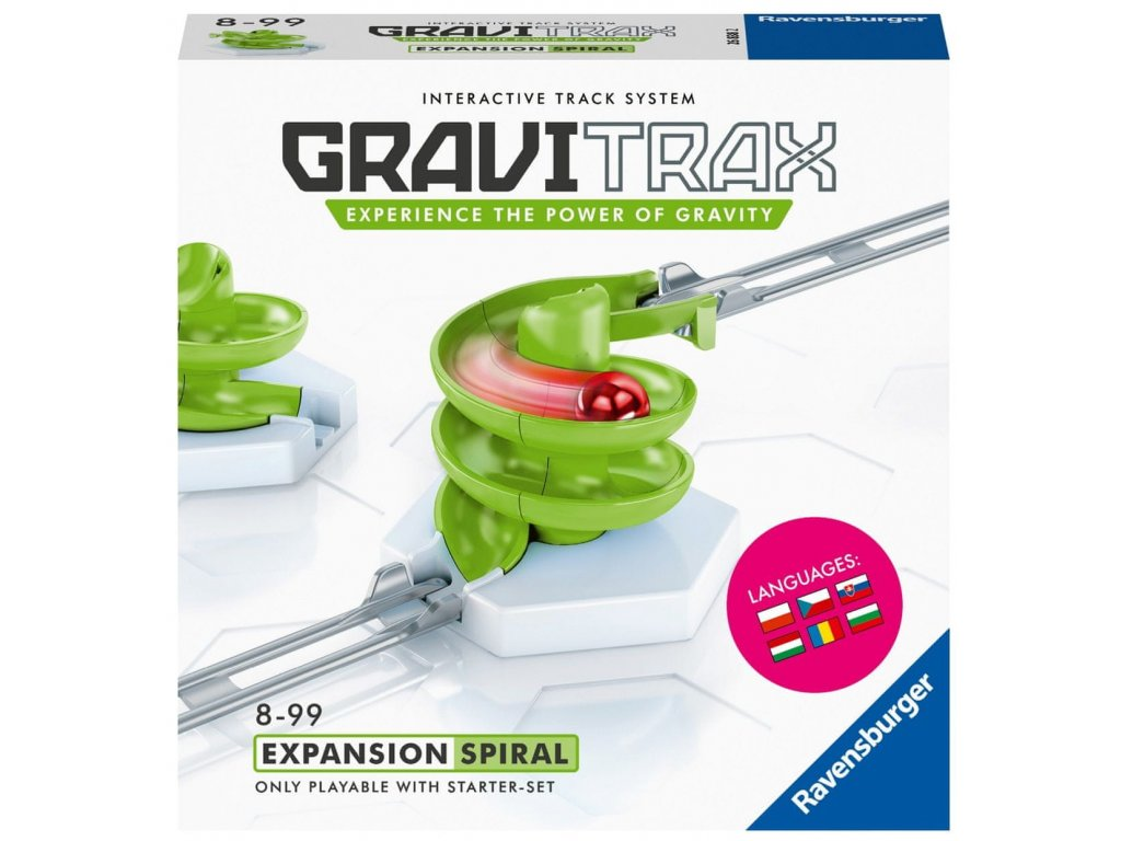 Kuličková dráha GraviTrax Spirála